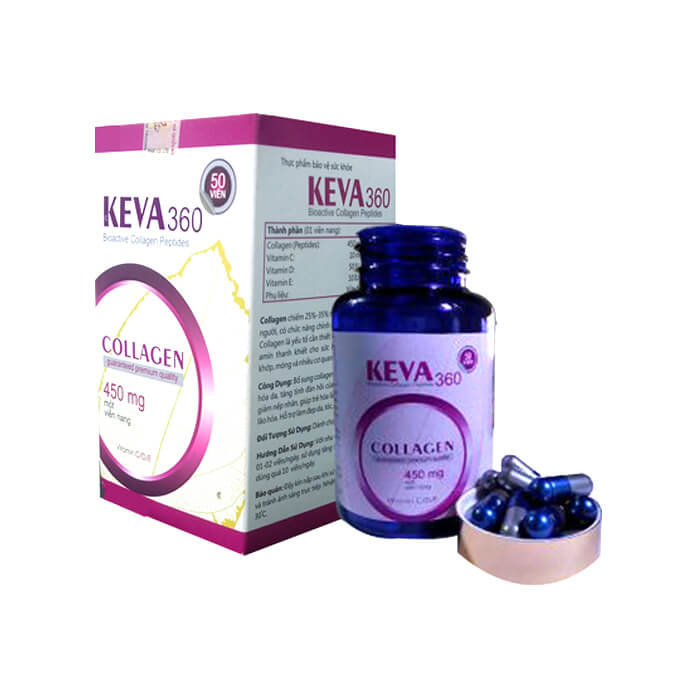 Collagen Keva360 (50 viên)